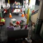 LEGO達人Orion Pax 打造超逼真《捉鬼敢死隊》總部模型 ‧ A Day Magazine