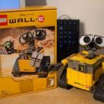 有點萌《瓦力的聖誕禮物》是一隻樂高瓦力 ♥ lego 21303