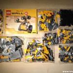 瓦力 wall-e 遙控改造 lego 21303 – MOC區 – 樂樂鎮的故事