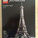 我的LEGO建築系列 篇六:21019 The Eiffel Tower_開箱曬物_什麼值得買