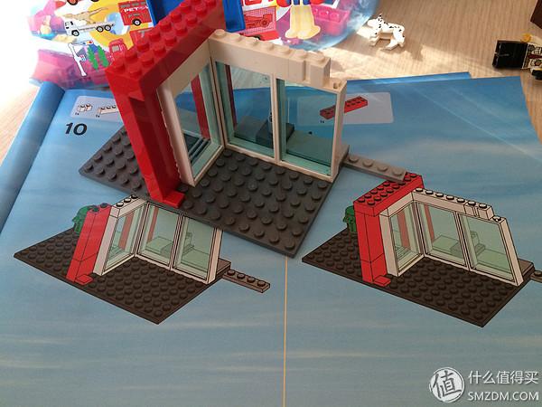 德亞直郵LEGO 60004消防局開箱