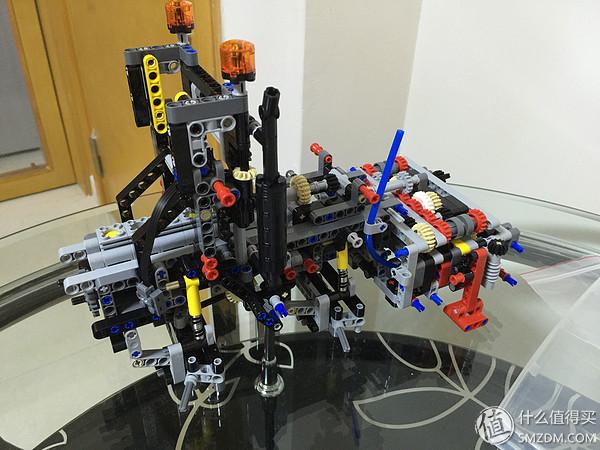 2號袋完成!主要是支撐架和變速箱的主要部分