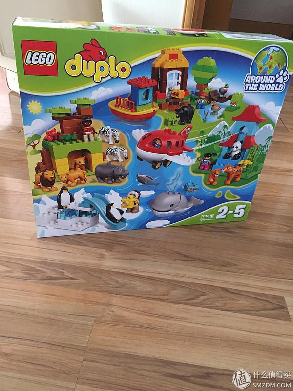 第一次海淘:LEGO 樂高 10805開箱