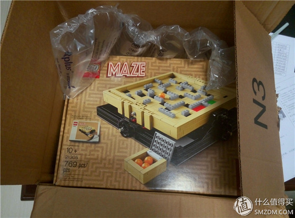 LEGO 樂高 IDEAS系列 21305迷宮 開箱