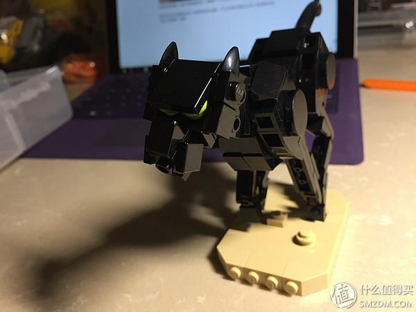 不一樣的樂高——LEGO MOC 奔跑的黑豹